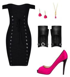 """""""pin up"""" by hadnagy on Polyvore featuring Christian Louboutin, Chanel and Charming Life"""