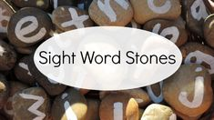 Looking for a fun alternative to sight word flashcards? Make these easy letter stones and get outside for a little play based learning instead! Learning Sight Words, Sight Word Flashcards, Play Based Learning, Phonemic Awareness, Word Play, Early Education, Eyfs, Fun At Work, Outdoor Play