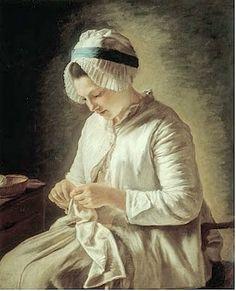 """""""La blanchisseuse"""" de Jean Baptiste Greuze (1725-1807)"""