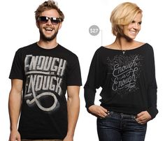 This week, Sevenly supports victims of domestic abuse with their t-shirts. They are almost at their goal!