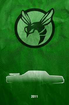 Movie Car Posters - Green Hornet by Boomerjinks.deviantart.com on @deviantART