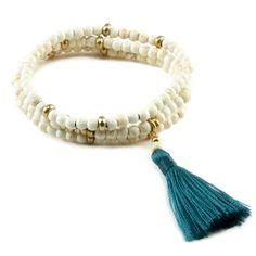shore tassel braceletshore tassel bracelet