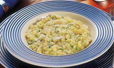 Risoto de cogumelo e gorgonzola