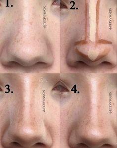 Nose Makeup, Edgy Makeup, Makeup Eye Looks, Grunge Makeup, Eye Makeup Art, Skin Makeup, Makeup Inspo, Makeup Tips, Makeup Ideas