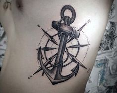 Bildresultat för arm tattoos anchor compass