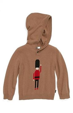 On sale now Burberry Hooded Cashmere Sweater (Baby Boys) | Nordstrom - TrackIf