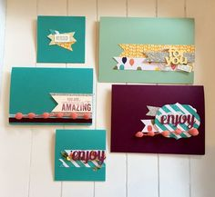 Scrap Challenge on the blog! Using up leftover Stampin' Up pieces by Rhoda MacPherson UK demo.