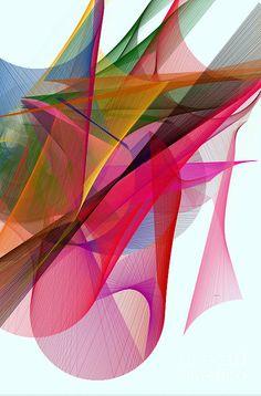 Color Symphony Digital Art by Rafael Salazar