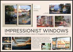 Vue Privée Gallery:印象派窗景 | TOPYS | 全球顶尖创意分享平台 OPEN YOUR MIND | 作品