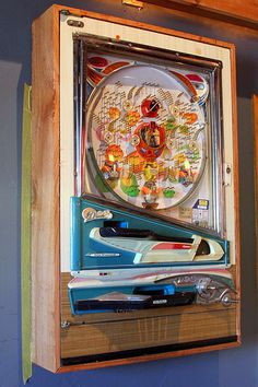 pachinko! We had one of these-so noisy!!