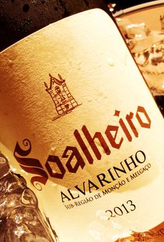 Soalheiro, alvarinho. Crisp white #wine from the minho region of #portugal