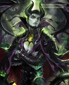 Maleficent (Sleeping Beauty) Gender Swap. He's definitely the beauty here
