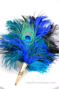 Juliette Renaissance Pirate Feather Hat Pin