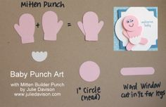 Stampin Up Punch Art Ideas | Stampin' Up! Project Ideas Posted Daily: Baby Punch Art with Stampin ...