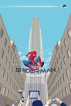 Spider-Man Homecoming by Liza Shumskaya