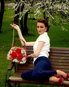 Romantic bag <3 This Is Us, My Love, Straw Bag, Romantic, Handbags, Bracelets, Products, Art, Art Background