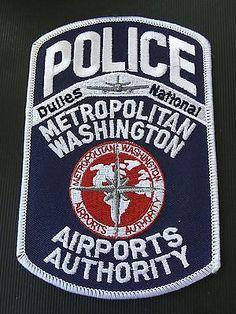 Metropolitan Washington Airports Authority Police Shoulder Patch