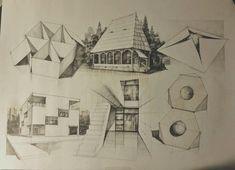 Subiecte – Page 4 – Vlad Bucur Architecture Design, Drawing Architecture, Designs To Draw, Digital Art, Diagram, Floor Plans, Sketches, Building Sketch, Drawings