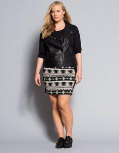 Plus Size Fashion - navabi.us