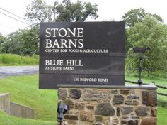 Blue Hill at Stone Barns in Pocantico Hills, New York may be my favorite restaurant on the planet. Dan Barber is a simply a creative genius.