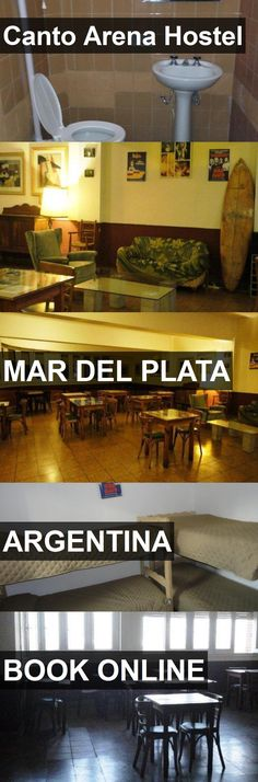 Canto Arena Hostel in Mar del Plata, Argentina. For more information, photos, reviews and best prices please follow the link. #Argentina #MardelPlata #travel #vacation #hostel