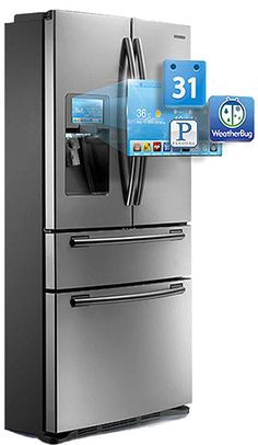A refrigerator that keeps track of your grocery list - and more kitchen innovations