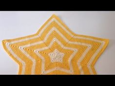 Tutorial Manta Estrella a Crochet Ganchillo Fácil. Tutorial Manta Estrella a Crochet Ganchillo Fácil - Hecho a Mano Tamara. Crochet Diy, Crochet Amigurumi Free Patterns, Crochet Round, Crochet Blanket Patterns, Crochet Crafts, Knitting Books, Crochet Books, Crochet Stars, Crochet Flowers