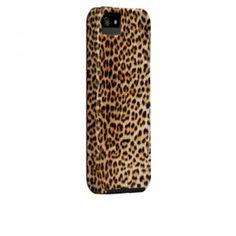 Case-Mate Barely There Designer Case für iPhone 5 - Cheetah Print bei www.StyleMyPhone.de