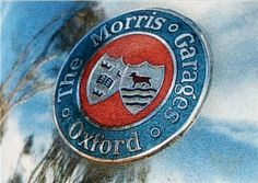 The original MG badge