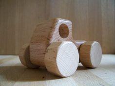 MUJI wooden truck.