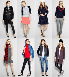 Über Chic for Cheap: Inspired: J.Crew Factory Looks for Fall