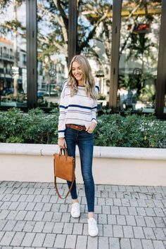 Blonde Expeditions: Stripe Spring Sweater