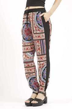 Photo 3 of Scarf Print Joggers