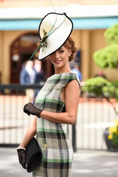 Race day fashion, big hats and fitted dresses are sure fire way to get attention for the right reasons.