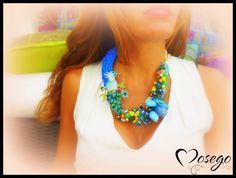 COLLAR ANIMALS BLUE BIRD #mosego #necklace #collar #rhinestone #crystal #bluebird #swarovski #handmade #hechoamano #exclusive #unico #bisuteria #complementos #jewelry #preciosavane #withlove www.mosego.com info@mosego.com
