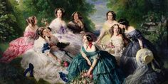 Learn how to style your home, brand and fashion with the most important shades of blue. These iconic shades of blue never go out of style. These blues have instant name and color recognition. Franz Xaver Winterhalter, Jig Saw, Elizabeth Ii, Reine Victoria, Queen Victoria, Poster Size Prints, Art Prints, Lady In Waiting, Ribbon Art
