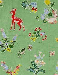 Vintage French textile from the Morateur Gallery (via Print & Pattern)