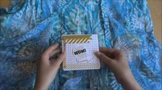 In this video I show you another piece of mail that I created! It is a squashbook which means that it is a letter folded up to a small size that opens up to . Letter Folding, Happy Mail, Golden Color, Folded Up, How To Be Outgoing, Color Schemes, Channel, Journal, Colour