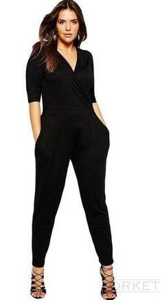 d586b6caa70 Women s V-Neck Long Jumpsuit         10% OFF Coupon Code   PNTRST10         Zorket Provides Only Top Quality Products for Reasonable  Prices + FREE SHIPPING ...