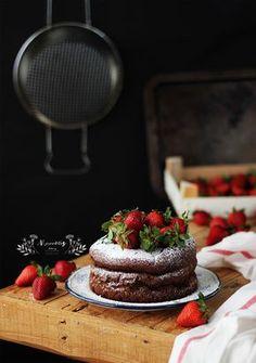 Merceditas Bakery: Bizcocho rápido de chocolate sin gluten #glutenfree