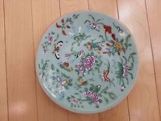 Antique-Chinese-export-porcelain-plate-late-Qing-Dynasty-and-early-Republic