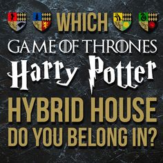 """This Quiz Will Determine Which """"Game Of Thrones""""-""""Harry Potter"""" Hybrid House You Belong In"""
