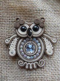 Soutache Pendant, Soutache Necklace, Leather Jewelry, Wire Jewelry, Handmade Necklaces, Handmade Jewelry, Soutache Tutorial, Gold Bridal Earrings, Polymer Clay Charms