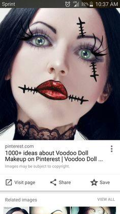 Last-Minute Halloween Makeup Ideas   Halloween makeup, Makeup ...