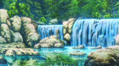 Florest and Garden, Background, Anime Background, Anime Scenery, Visual Novel Scenery, Visual Novel Background