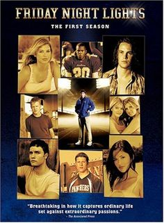 Friday Night Lights!  I can't bring myself to watch the finally!  It can't be over....no Tim Riggins or Matt S! wtf NBC