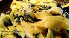 Pappardelle+Bietole+Caciocavallo+e+Crema+di+Ricotta