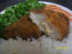 Faça a receita de Filé de frango à Cordon Bleu e surpreenda-se! Com certeza vai ser um sucesso na sua casa e receberá muitos elogios! Filé de frango à Cord
