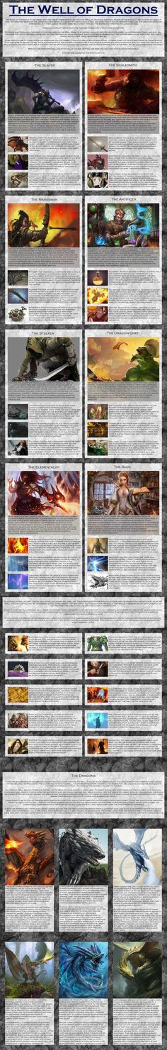 Well of Dragons CYOA