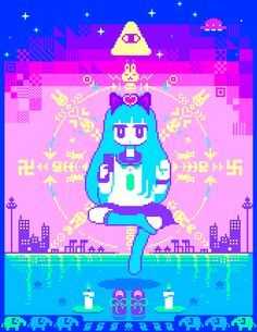 - Italy - anime and manga - kawaii japanese stuff . Pictures are not mine, they are owned by the artists who made them (btw sorry for my real bad English lol) message archive title theme Art Kawaii, Manga Kawaii, Vaporwave, Animation, Pixel Art Gif, Fille Anime Cool, 8 Bit Art, Michelle Phan, After Life